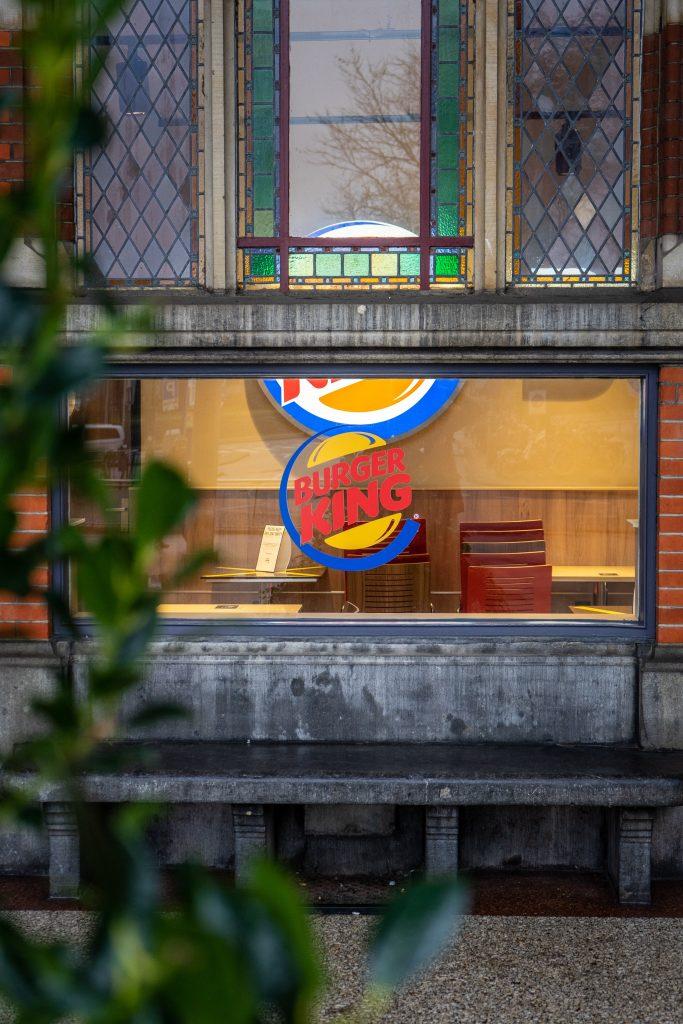 Burger King Logo from Street
